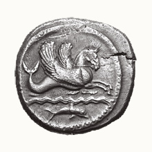Barrett and Barrett Hippocamp Coin